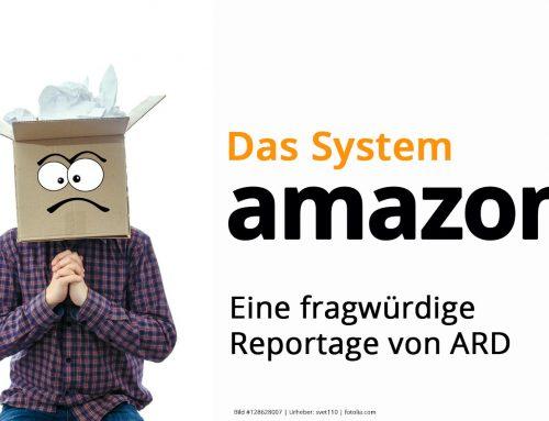 """Kritik an der ARD Reportage """"Das System Amazon"""""""