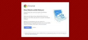 domain-malware-sicherheitswarnung-chrome