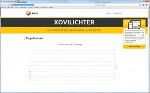 xovilichter-results-leere-statistik-screenshot