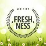 SEO-Tipp: Freshness