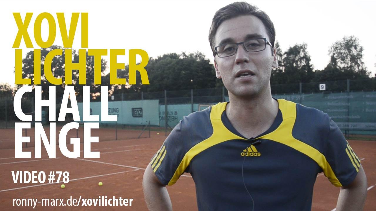 Xovilichter Video 78 mit einem Special vom Tennisplatz